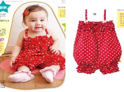 Model Baju Bayi Perempuan lucu jumper