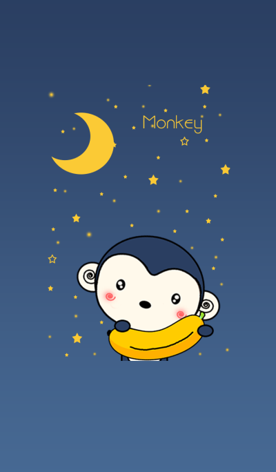 Monkey With Stars