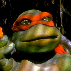 Las tortugas Ninja 1990 Michelangelo
