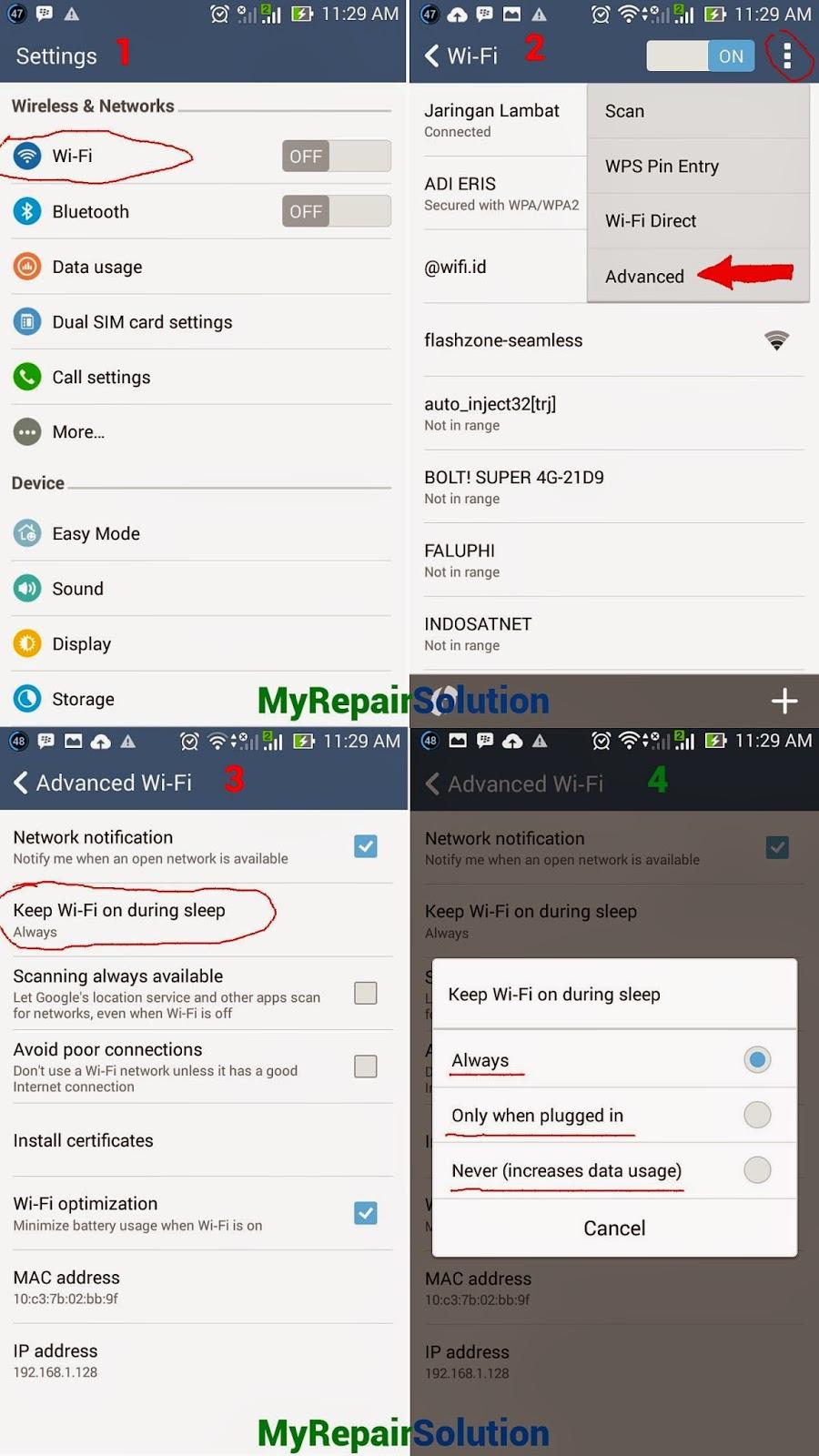 Solusi Masalah Wifi Pada Android Tidak Terkoneksi | Solusi Masalah ...