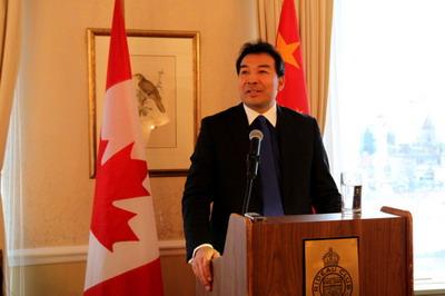 China Ambassador  Luo Zhaohui
