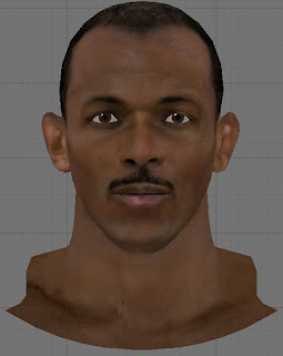 NBA 2K13 Clyde Drexler Cyberface Patch