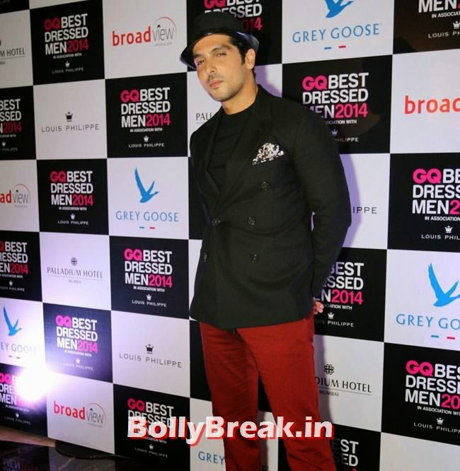 Zayed Khan, Evelyn, Kim, Nargis Sizzle at GQ Best Dressed Men 2014 Awards