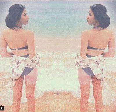 Jessica Milla Pake Bikini Doang