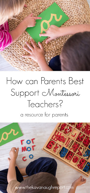 How can parents best support Montessori teachers? A resource for parents -- real Montessori teachers give their thoughts on how parents can support their work.