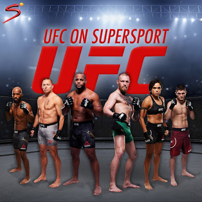 UFC® Live Action Events Coming To DStv In January