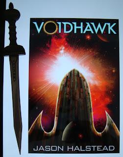 Portada del libro Voidhawk, de Jason Halstead
