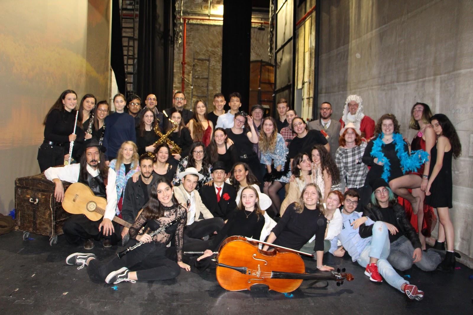 El grupo de 2º BAEMD gana un premio Buero de Teatro Joven