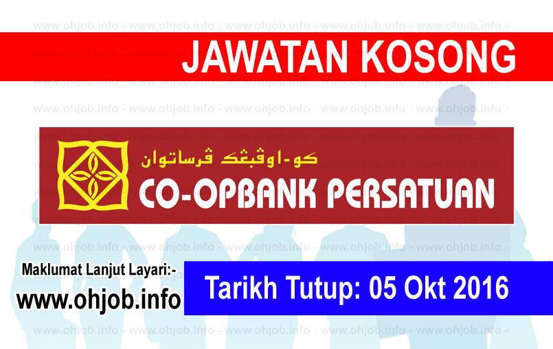Jawatan Kerja Kosong Koperasi Bank Persatuan Malaysia Berhad logo www.ohjob.info oktober 2016