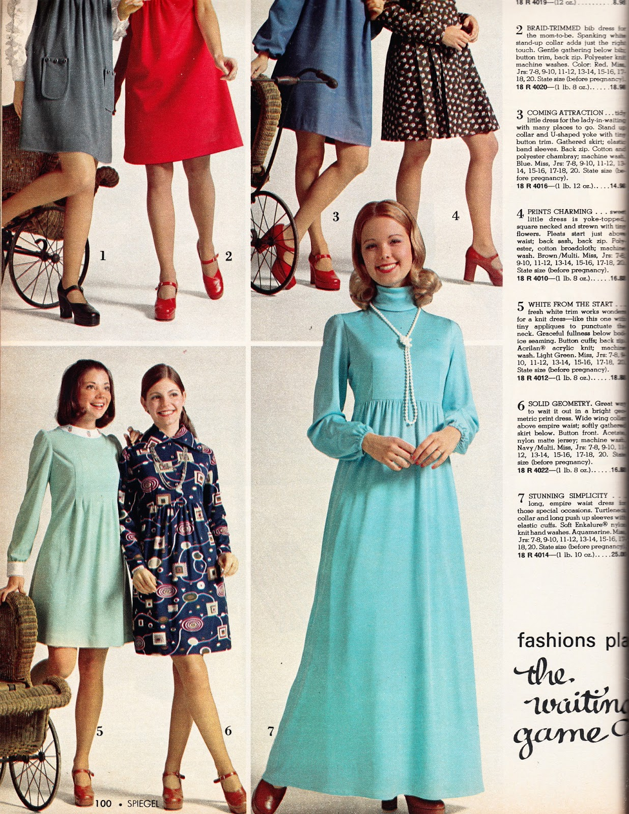 Size 16 maternity dresses choice image braidsmaid dress kathy loghry blogspot thats so 70s great expectations part 5 i guess they had maternity formals ombrellifo Images