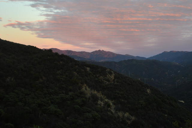 Old Man Mountain in alpine glow