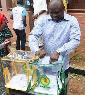 Ambode Voting