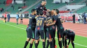 الجيش الملكي يحقق الفوز على فريق سريع وادي زم بهدفين بدون رد في الدوري المغربي