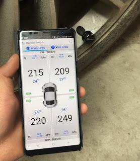 Áp suất lốp Fobo Tire