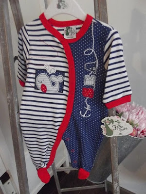 Pijama rayas marineras bebe nueva coleccion primavera verano 2016