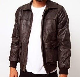 desain jaket kulit pria