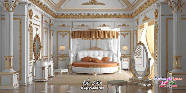 window curtains ideas for bedroom interior with canopy on the bedset
