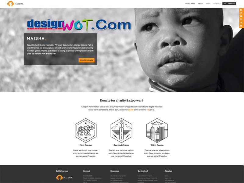 maisha lite wordpress theme