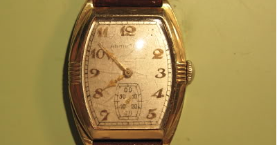 Vintage Hamilton Watch Restoration How To Install A Watch
