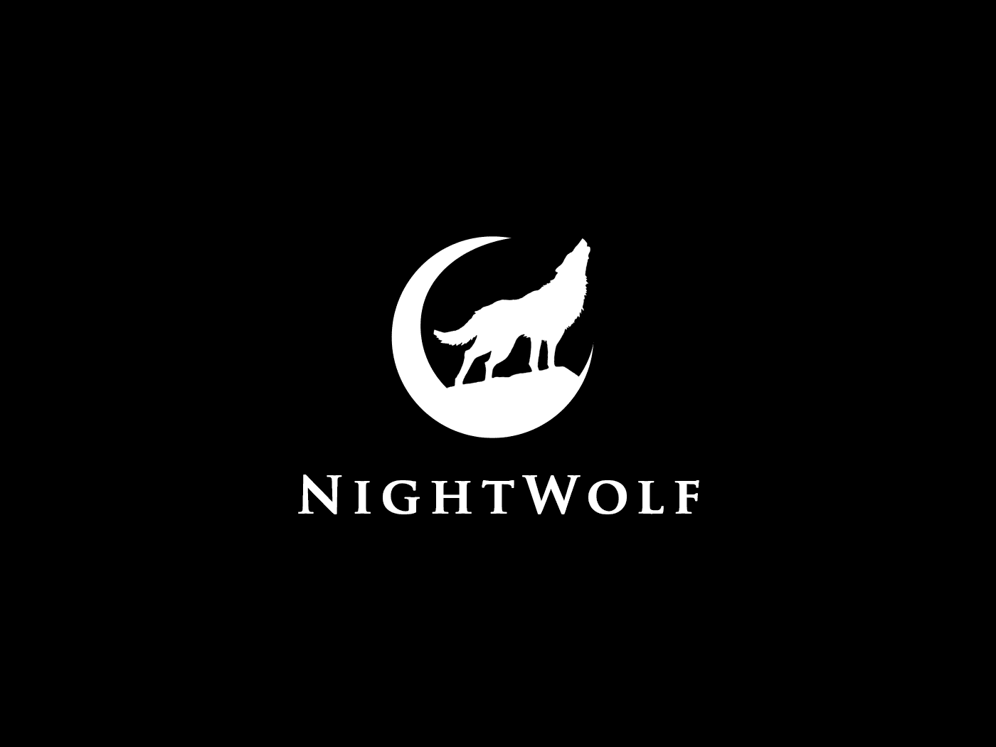 Night Wolf Creative Logo Idea
