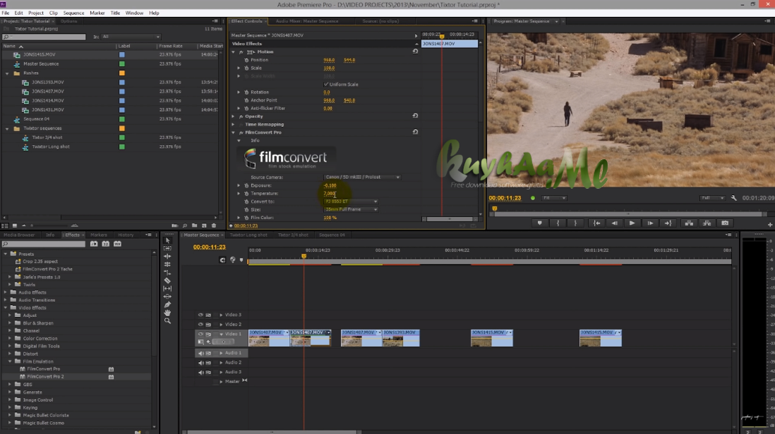 FilmConvert Pro 2.39a Plugin After Effect Premiere