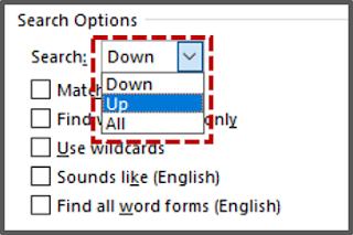 """Mencari Teks dari Kotak Dialog """"Find And Replace"""" 5"""