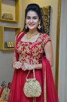Jenny Honey in Stunning Dark Red Anarkali Dress at Splurge   Divalicious curtain raiser ~ Exclusive Celebrities Galleries 035.JPG
