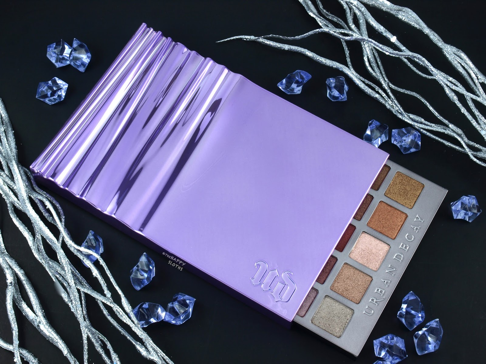 Urban Decay Heavy Metals Metallic Eyeshadow Palette: Review and Swatches