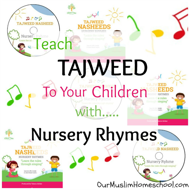 Teach Tajweed To Children with nursery rhymes