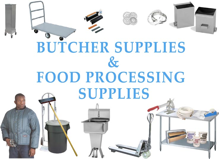 Butcher Supplies and Industrial Food Processing and Packaging Supplies