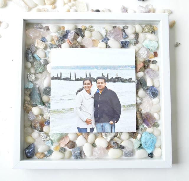 beach stones diy