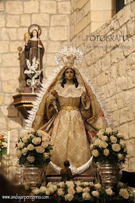 Virgen de la Cabeza Convento San Antonio Baeza