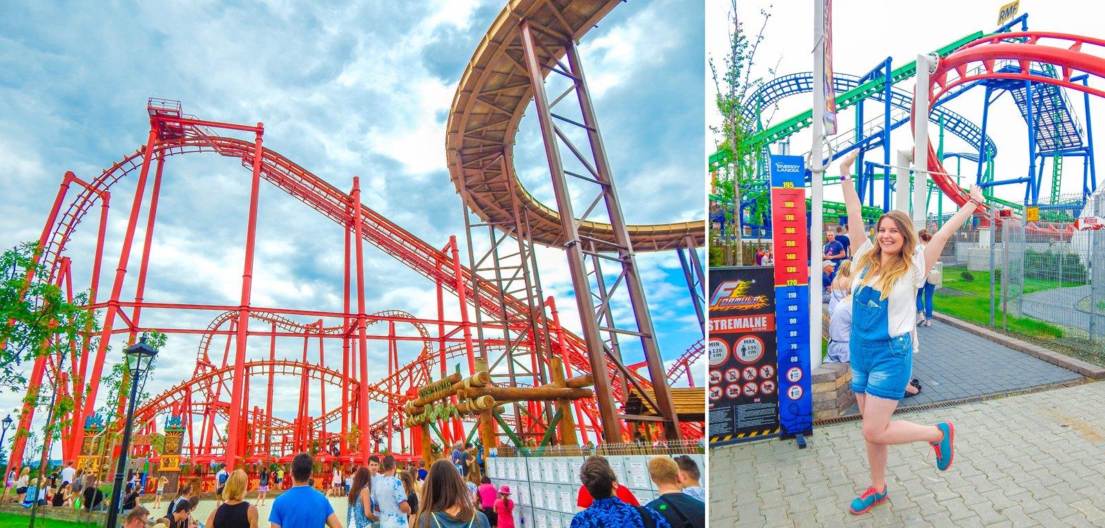5 enerylandia atrakcje dla rodzin dla dzieci dla starszych czy warto ile kosztuje bilet jak dojechać recenzja opinie strach boję się roller coaster karuzele strefa wodna speed water coster pokazy lista