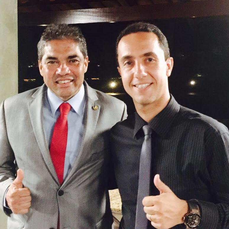 Dedé Roriz e Hélio José - Foto: Facebook
