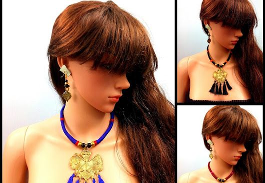 Dokra Tribal Necklace coming up with fresh Fashion