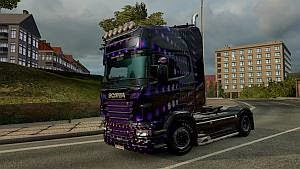 Disco skin for Scania RJL