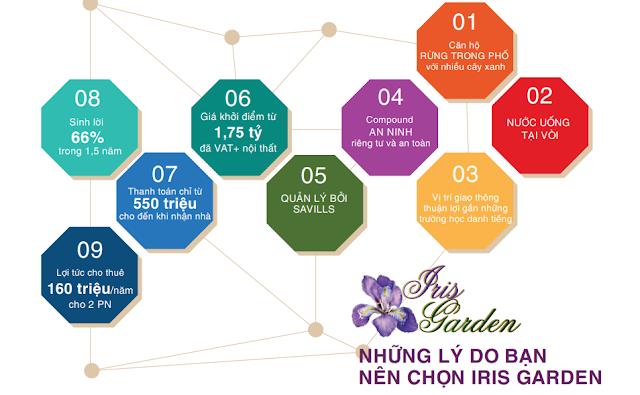 Lý do khiến Iris Garden hấp dẫn