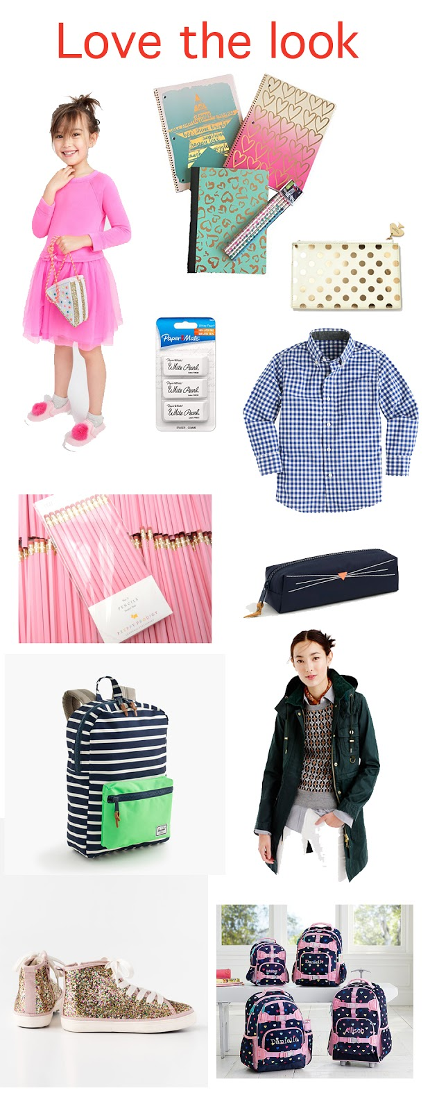 Love the look: Back to School