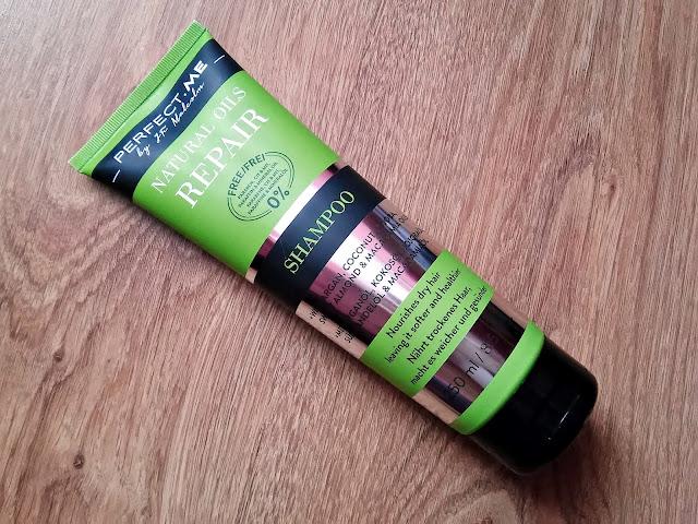 PERFECT.ME, natural oils repair - szampon do suchych włosów