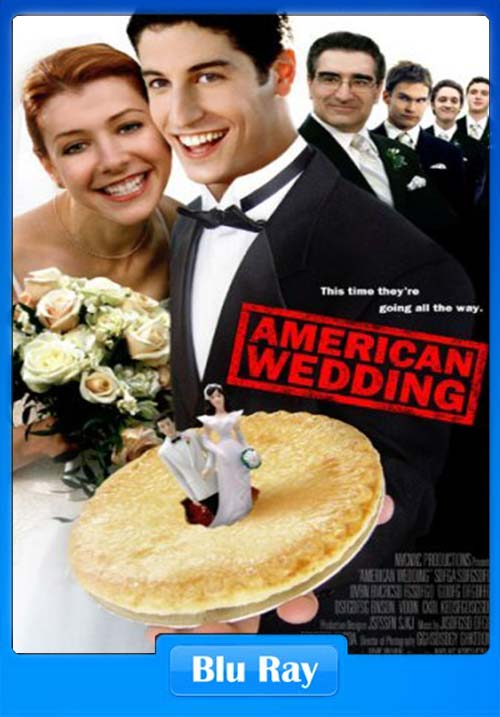 [18+] American Wedding 2003 UnRated Dual Audio Hindi 720p BluRay ESubs | 480p 300MB | 100MB HEVC Poster