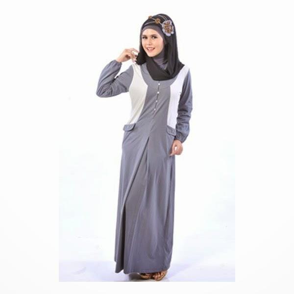 Contoh baju muslim remaja anggun
