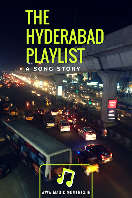 So to channel my nostalgic moods I thought to start a series in my blog- The Hyderabad Playlist. I chose the word 'playlist' instead of 'diaries' because scenes from this city and dialogues from people I met there are still playing in my mind in loop.