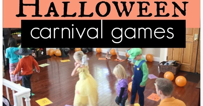 Halloween Carnival Games For Kids.Toddler Approved Halloween Carnival Games