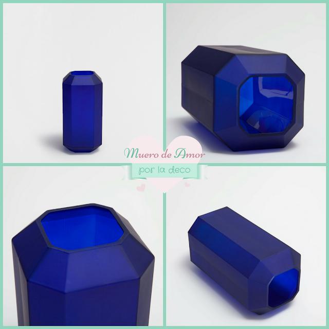Jarrones Azules para Decorar tu Casa-Zara Home-By Ana Oval-7