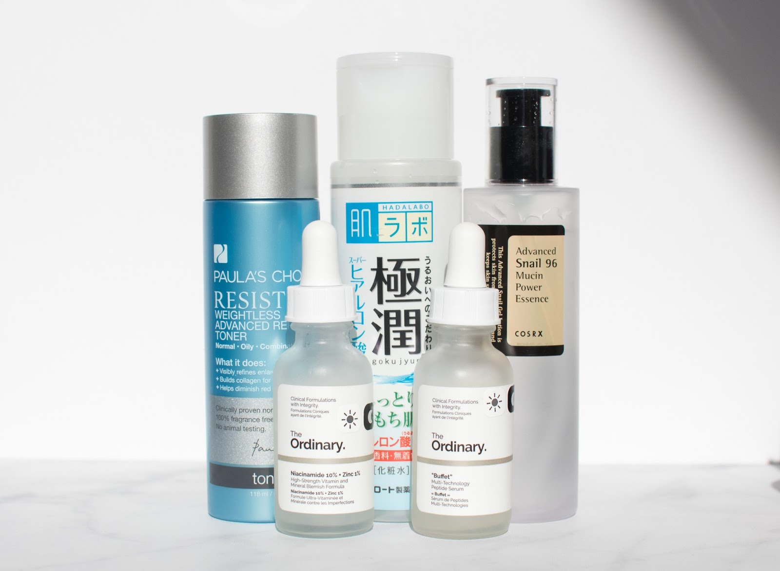 Toner, Lotion, Essence, and Serums