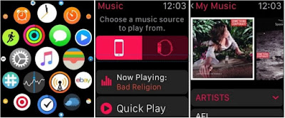 music Top WatchOS 2 Features List Overview Apps