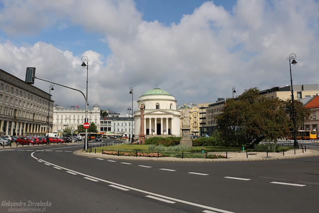 Warszawa - Plac Trzech Krzyży - Magda M.