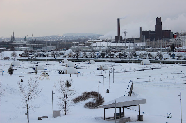 De la pêche au Village Nordik