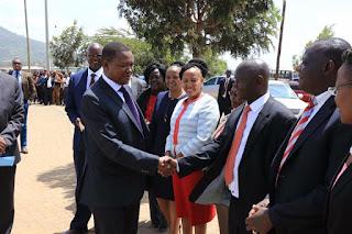 Dr. Afred Mutua meeting Kamba elders in Machakos. PHOTO : Courtesy