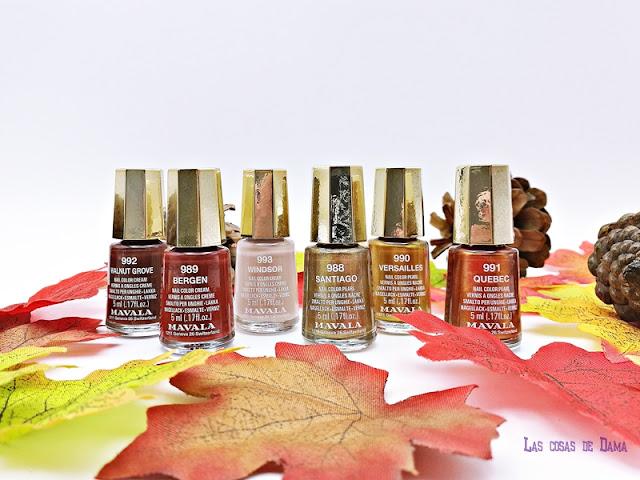 tratamiento manos uñas Mavala Colección de Otoño Heritage Colors